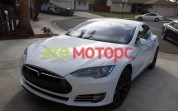 Tesla model s 85 solid white paint
